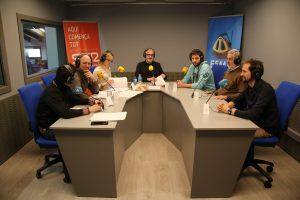 El dia Mundial de la Ràdio a l'Espluga FM Ràdio. (Foto: Espluga Audiovisual)