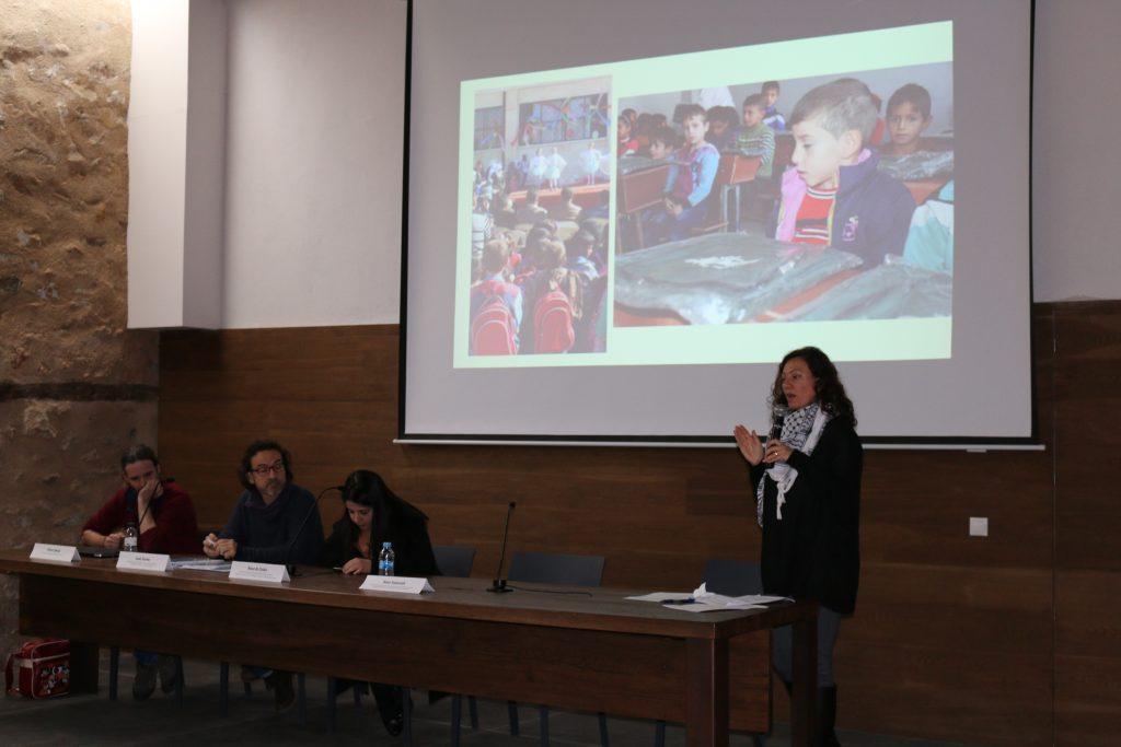 Acte de presentació de la campanya 'Casa Nostra, Casa Vostra' (Foto: Ferran Lozano)