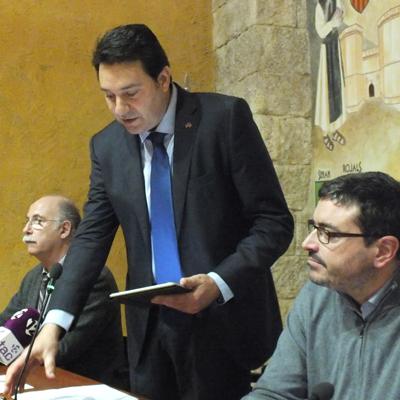 Francesc Benet, nou president del Consell Comarcal de la Conca de Barberà