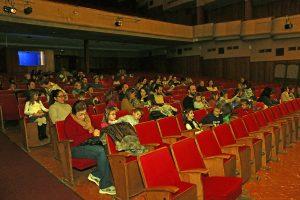 Espectacle de la Cigala i la Formiga al Teatre del Casal. (Foto: Xavier Lozano)