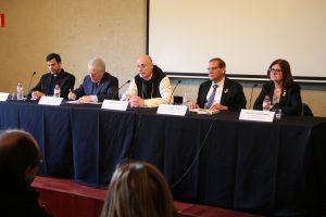 Presentació de la reedició de la biografia del cardenal Vidal i Barraquer. (Foto: Xavier Lozano)
